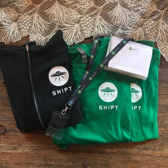 Shipt T-Shirts, Hooded Jacket Bundle